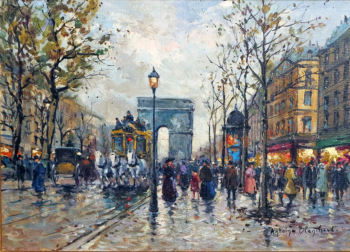 L'Arc de Triomphe, Paris