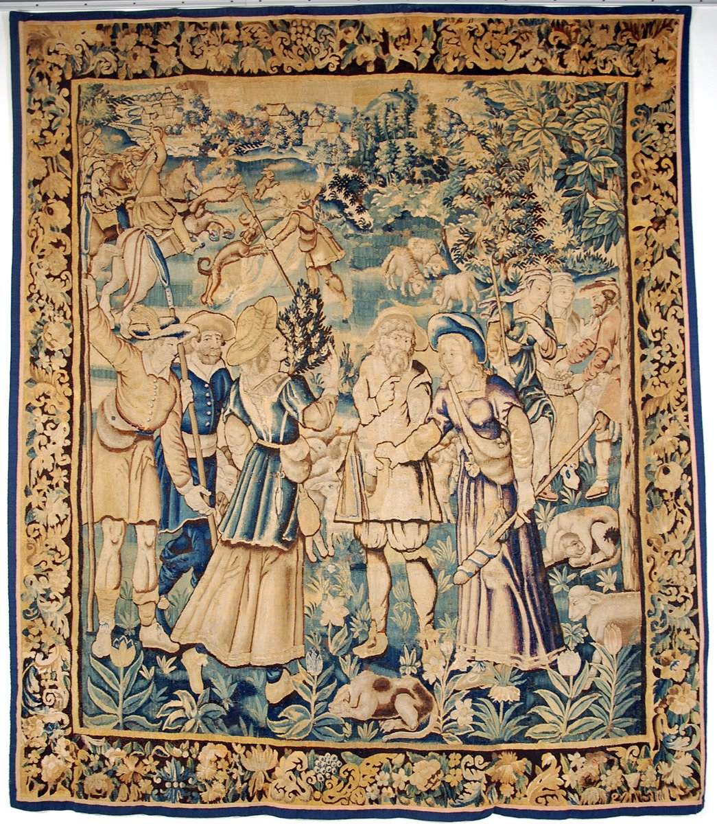 A Fine French 17th Century Tapestry