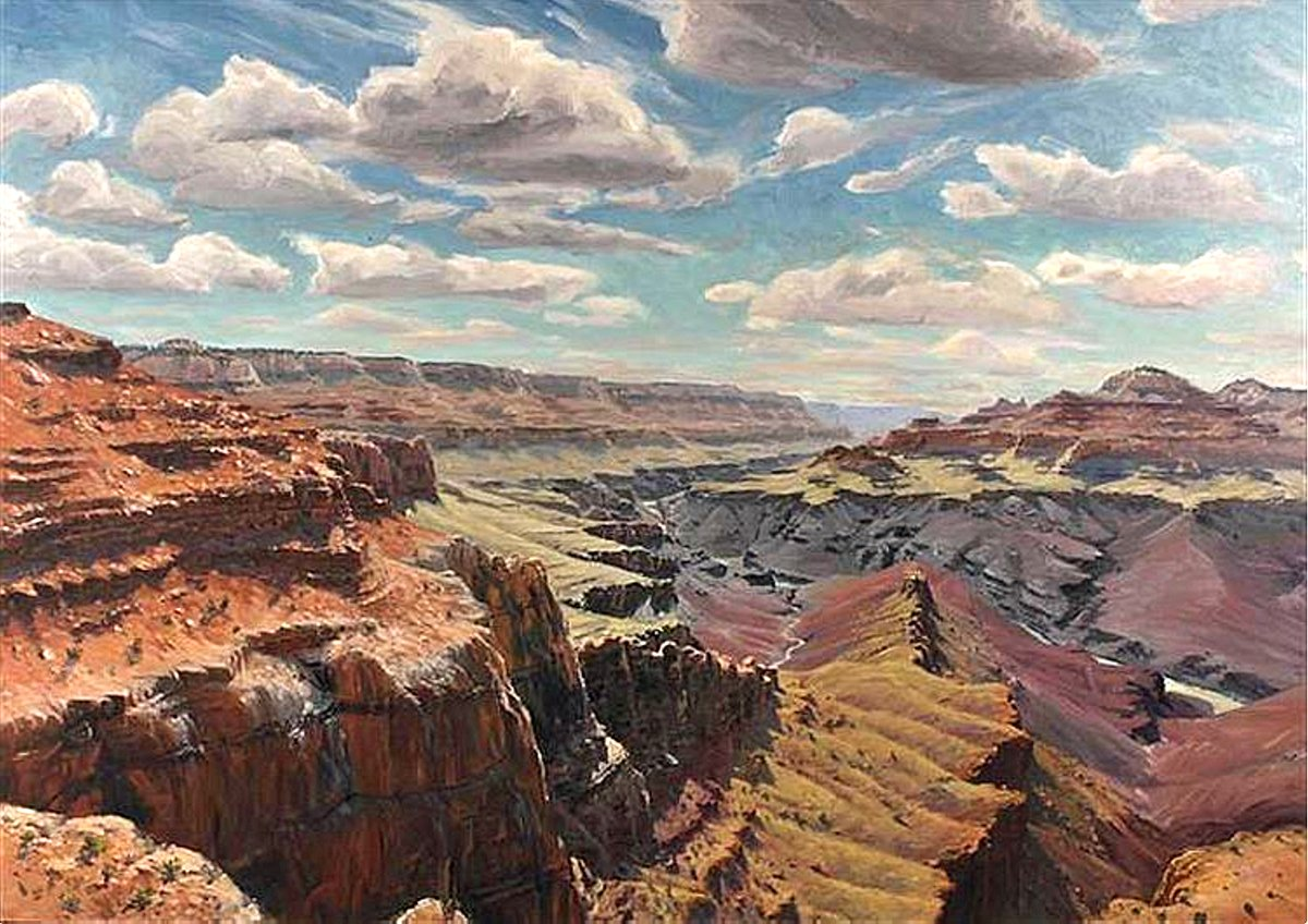 Southwestern Canyon View